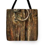 Knock On Wood Tote Bag