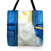 Knocking On Heavens Door Tote Bag