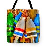 Knotty Buoys Tote Bag