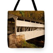 Knox Bridge In Autumn Tote Bag