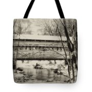 Knox Valley Forge Covered Bridge Tote Bag