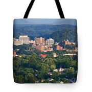 Knoxville Skyline In Summer Tote Bag