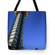 Knoxville Sunsphere Perspective Tote Bag