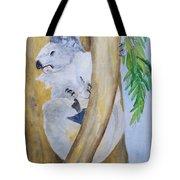 Koala Still Life Tote Bag