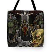 Kobold Throne Room Tote Bag