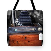 Kodak Folding Autographic Brownie 2-a Tote Bag by Kaye Menner