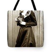 Kodak Girl With A Folding Camera Circa 1918 Tote Bag
