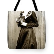 Kodak Girl With A Folding Camera Circa 1918 Tote Bag
