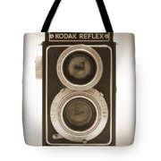 Kodak Reflex Camera Tote Bag by Mike McGlothlen