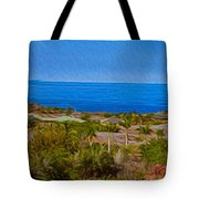 Kohala Coast Panorama Tote Bag