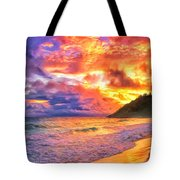 Kohala Sunset Tote Bag