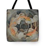 Koi Fish Garden Tote Bag
