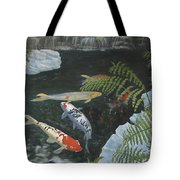 Koi Fish Tote Bag