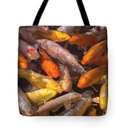 Koi Fish Nishikigoi  Tote Bag