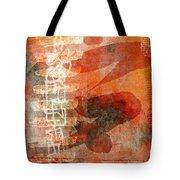 Koi In Orange Tote Bag