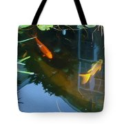Koi - Oil Painting Effect Tote Bag