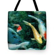 Koi Pond 2 Tote Bag