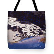 Koi Pond Abstract Tote Bag