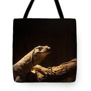 Komodo Dragon Poising Tote Bag