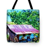 Kona Coffee Shack Tote Bag