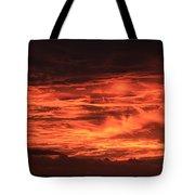 Kona Sky On Fire  Tote Bag
