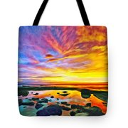 Kona Tidepool Reflections Tote Bag