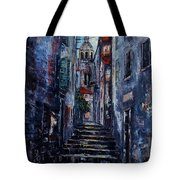 Korcula - Old Town - Croatia Tote Bag