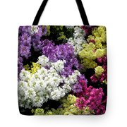 Many Colors Make A Beautiful Garden Tote Bag