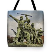 Korean War Veterans Memorial South Korea Tote Bag