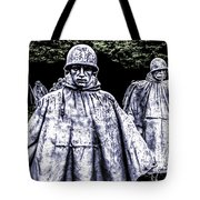 Korean War Veterans Memorial Washington Tote Bag