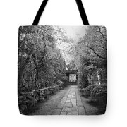 Koto-in Temple Stone Path Tote Bag by Daniel Hagerman