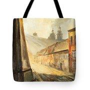 Krakow- Kanonicza Street Tote Bag