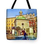 Krakow Main Square Old Town  Tote Bag