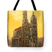 Krakow - Mariacki Church Tote Bag