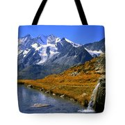 Kreuzboden Lake Tote Bag