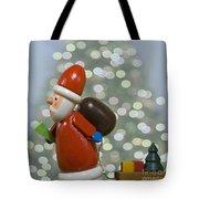 Kris Kringle Tote Bag by Juli Scalzi