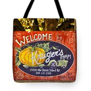 Kruger's Farm Tote Bag