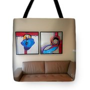 Kt Install Giclees Tote Bag