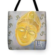Kuan Yin With Quote Tote Bag