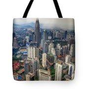 Kuala Lumpur City Tote Bag