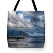 Kualoa Morning Show Tote Bag