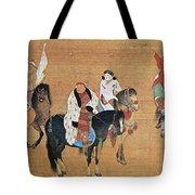 Kublai Khan Hunting Tote Bag