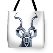 Kudu White Tote Bag