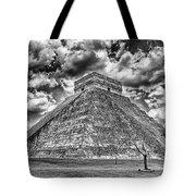 Kukulcan Pyramid V2 Tote Bag
