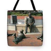 Kunta Kinte Memorial - Alex Haley Foundation Tote Bag