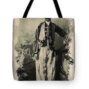 Kurdish Tribal Leader Tote Bag