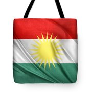 Kurdistan Flag Tote Bag