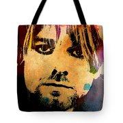 Kurt Cobain 3 Tote Bag