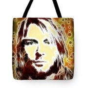 Kurt Cobain Digital Painting Tote Bag
