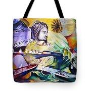 Kurt Cobain- It Aint Medicine Kurt Tote Bag